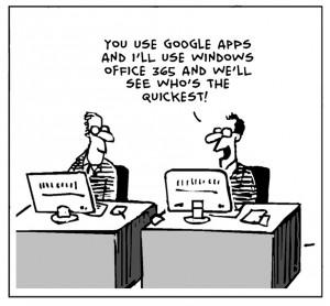 Google Apps vs. Office 365