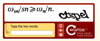 Svær CAPTCHA
