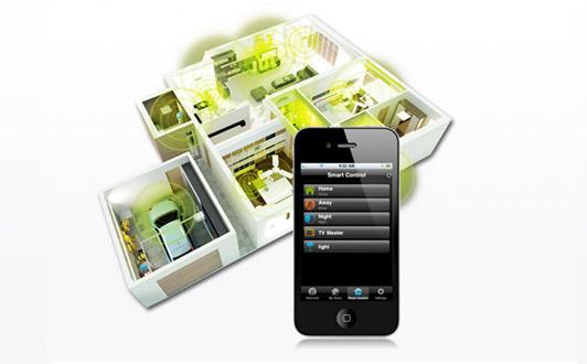 Greenwavereality: Intelligent lys forbundet til din smartphone