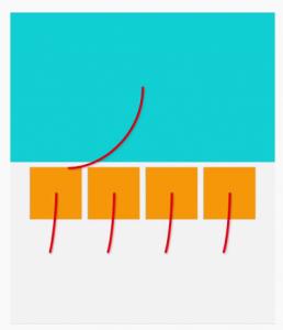 Eksempel på Material design animationer
