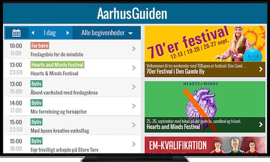 AarhusGuiden Apple TV App
