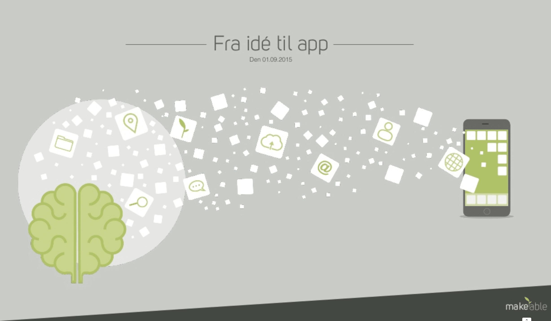 Fra ide til app