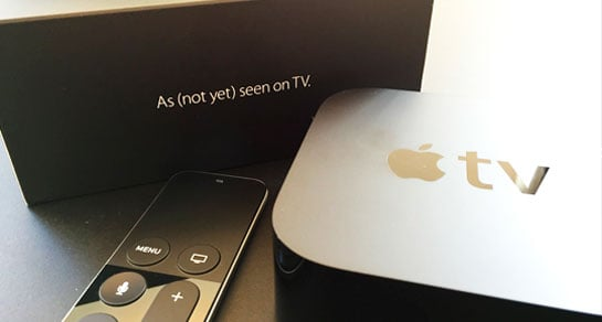 Apple TV med tvOS og Apps - developer kit
