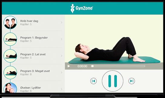 Gynzone Apple TV App