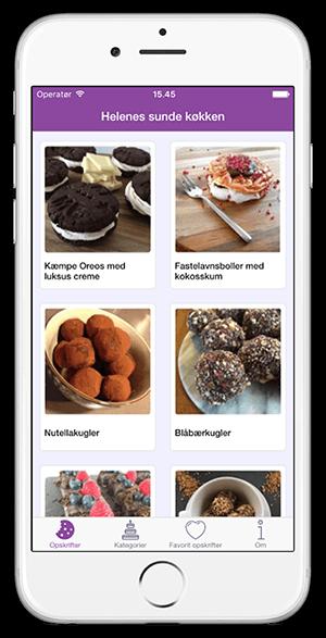 Helenes Sunde Køkken App