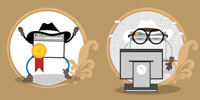 Hvad er forskellen på Black Hat og White Hat