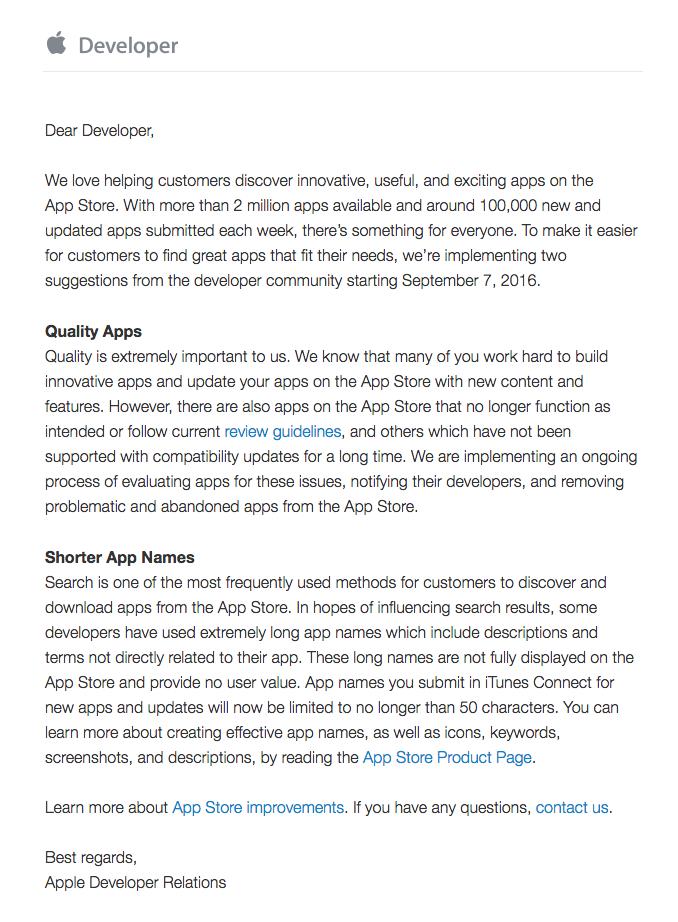 Apple Developer Requirements