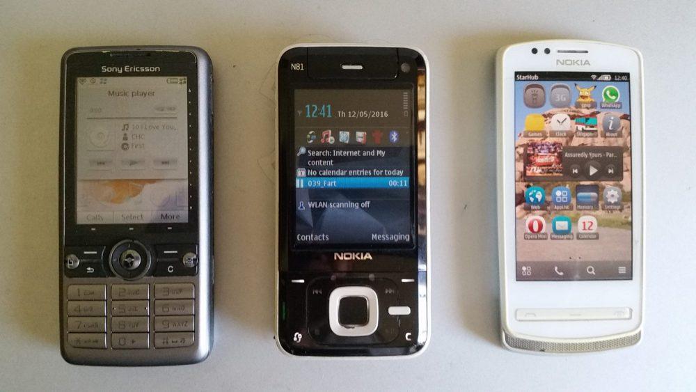 Symbian phones