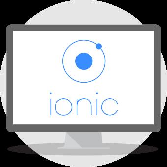 ionic udvikling