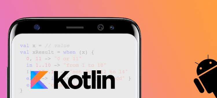 Kotlin Android Udvikling