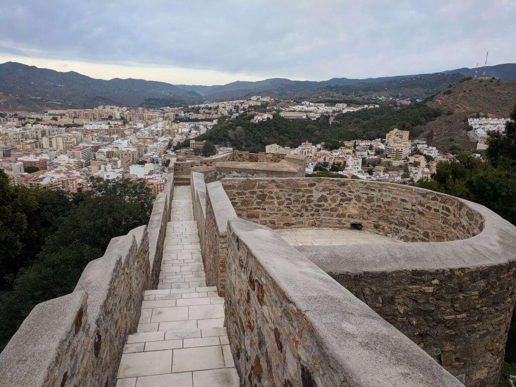Malaga borg
