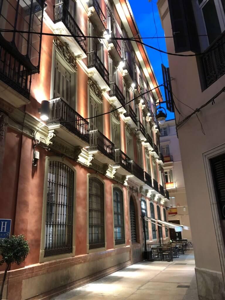 Aften i Malaga