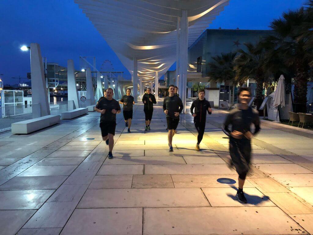 Makeable løber i Malaga