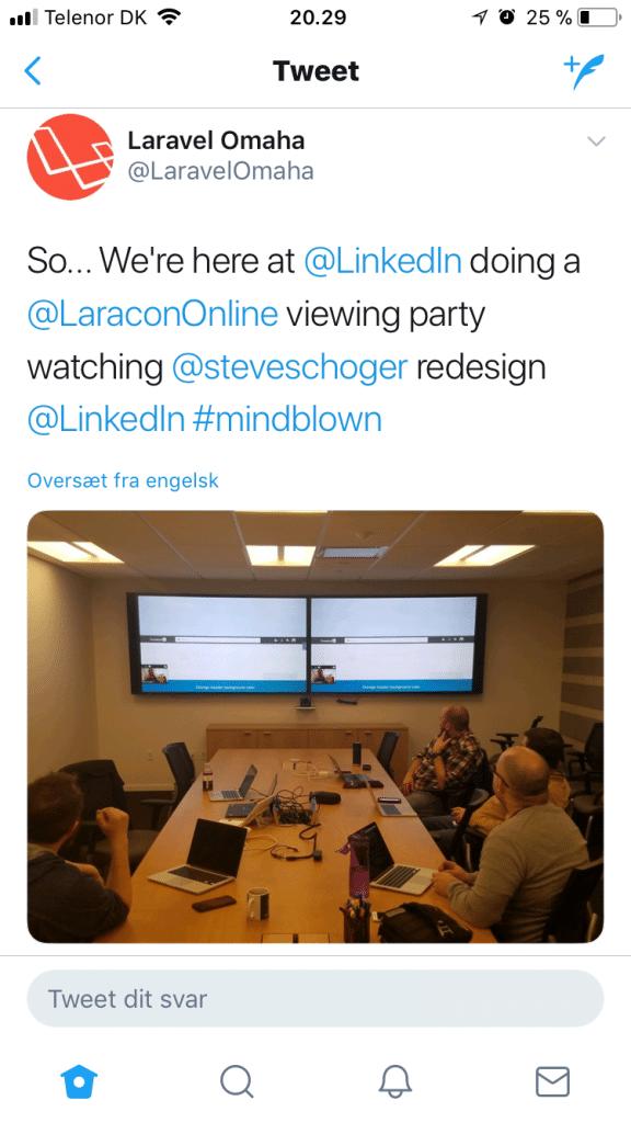 Laravel LinkedIn