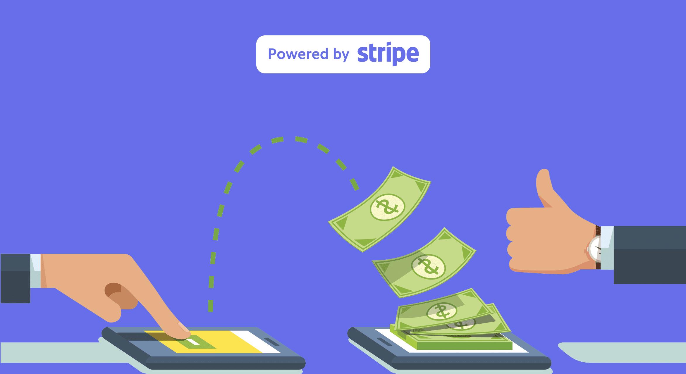 Escrow betalinger med Stripe