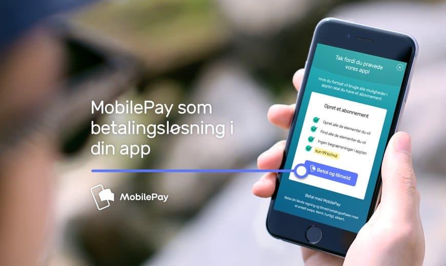 MobilePay integration i apps